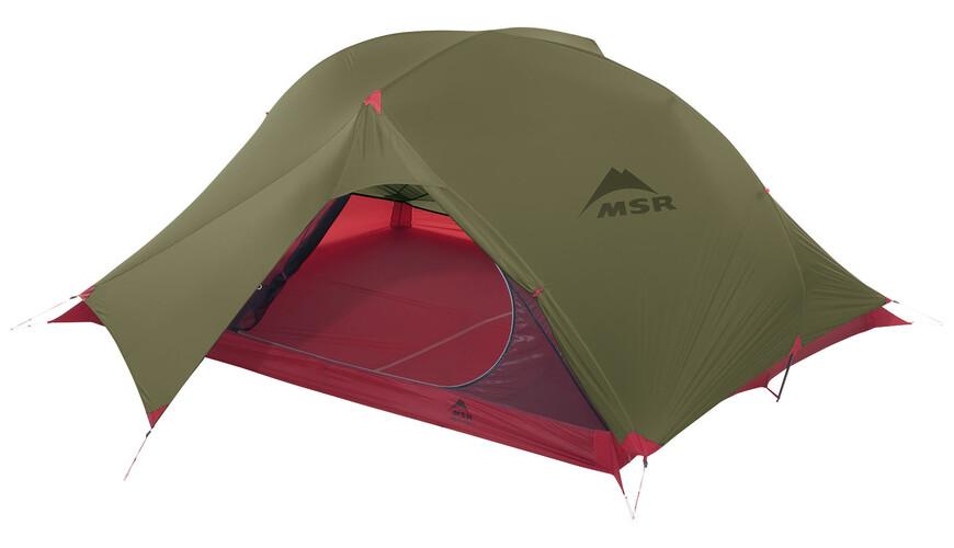 MSR Carbon Reflex 3 - Tente - vert